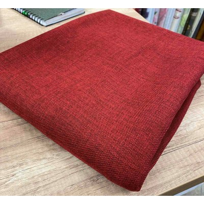 Piece fabric in dark red 1,20m/2,80m
