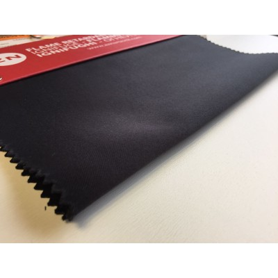 Негорим блекаут в черно със сертификат