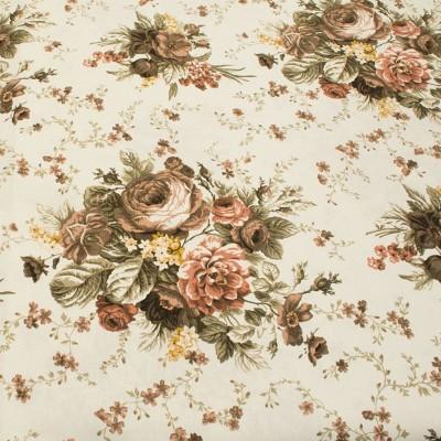 Дамаска с флорални мотиви