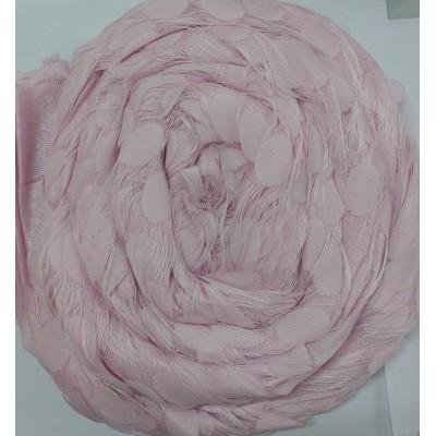 Ресни 3 метра в розов цвят с кръгове