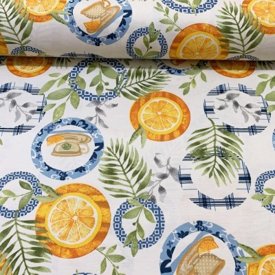 Curtain and upholstery Tea