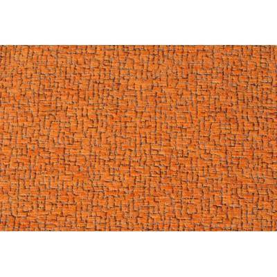 Дамаска Фибреа със шарка цвят оранжев
