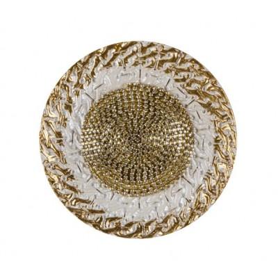 Държач за завеси с декоративни камъчета