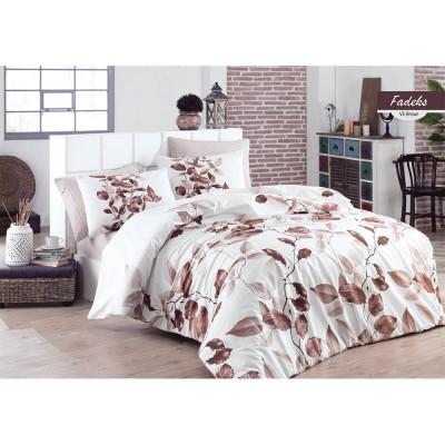 Единичен спален комплект от ранфорс Фадекс
