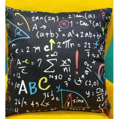 Decorative pillow case Mathematics size 43/43