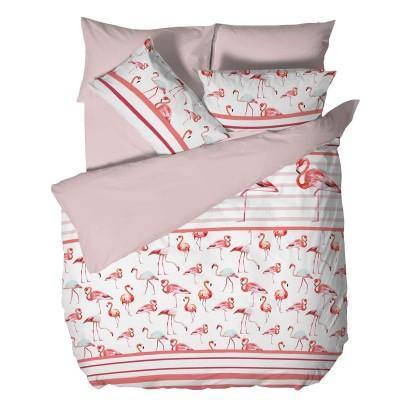 Двоен спален комплект Фламинго