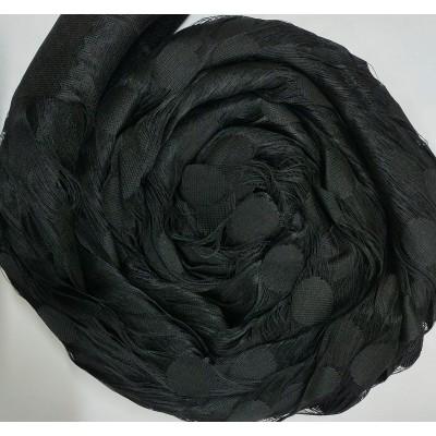 Ресни 3 метра в черен цвят с кръгове