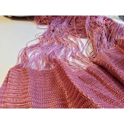 Ресни 3 метра в тъмно розов цвят