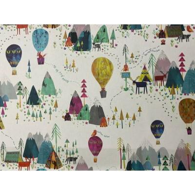 Curtain for children Flight